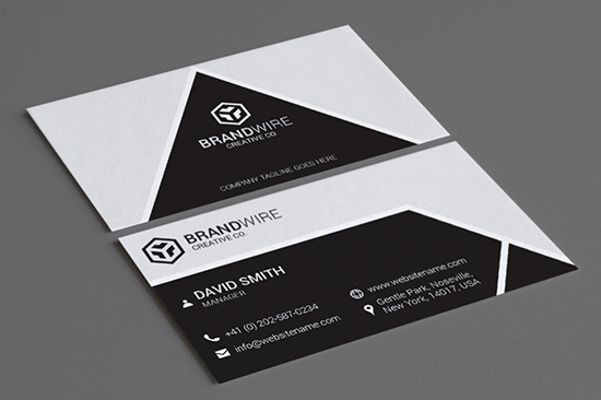 Black and White Business Cards Awesome 100 Modern Business Cards Bundle Graphic Pick
