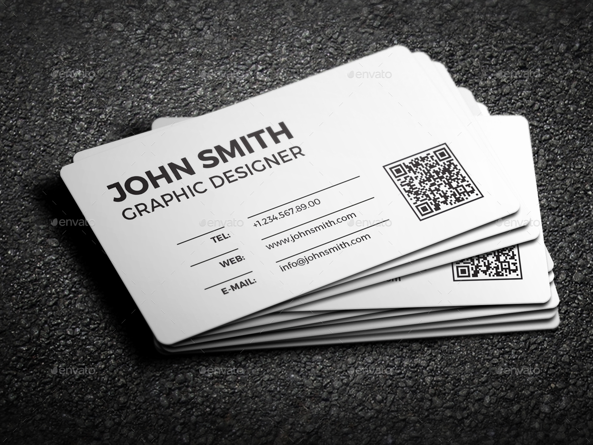 Black and White Business Cards Fresh 2 In 1 Black & White Business Card 59 by Nazdrag