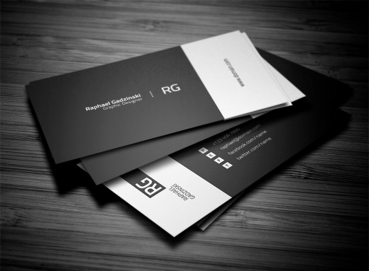 Black and White Business Cards Inspirational 20 Brilliant Black and White Business Cards Colorlava