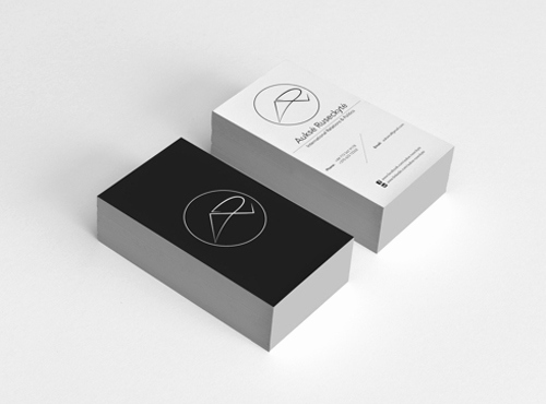 Black and White Business Cards Unique Black and White Business Cards Design 50 Inspiring