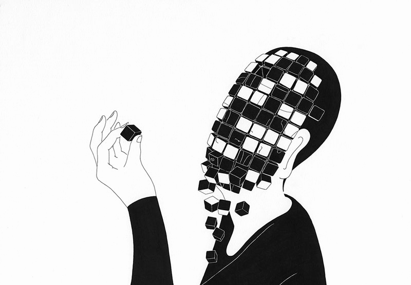 Black and White Illustration Elegant the Surreal Black and White Illustrations Of Kim Dae Hyun
