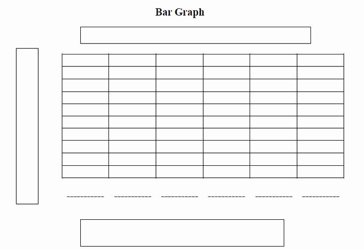 Blank Bar Graph Template Inspirational Printable Bar Charts