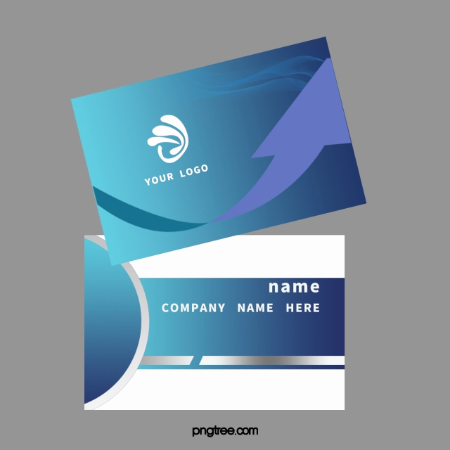 Blank Business Card Template Psd Awesome Blue Business Cards Business Card Design Business Card