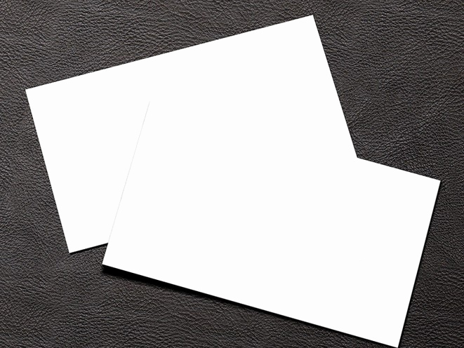 Blank Business Card Template Psd Beautiful Free Simple White Blank Business Card Mockup Psd Titanui