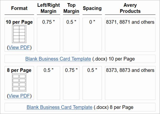 Blank Business Card Template Word Beautiful How to Make Free Business Cards In Microsoft Word with