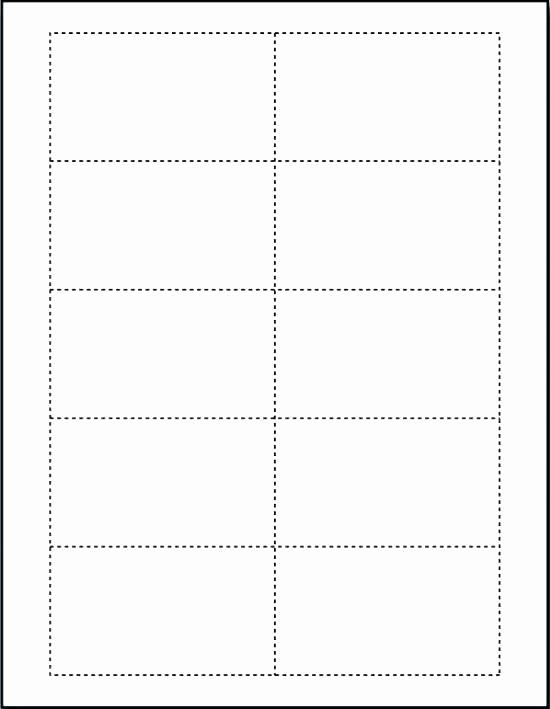 Blank Business Card Template Word Elegant Free Template for Business Cards On Word – Blank Business