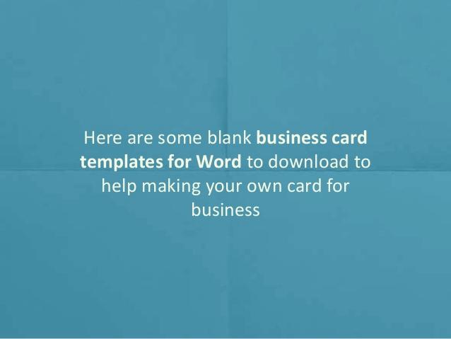 Blank Business Card Template Word Elegant Printable Blank Business Card Design Templates for Ms Word