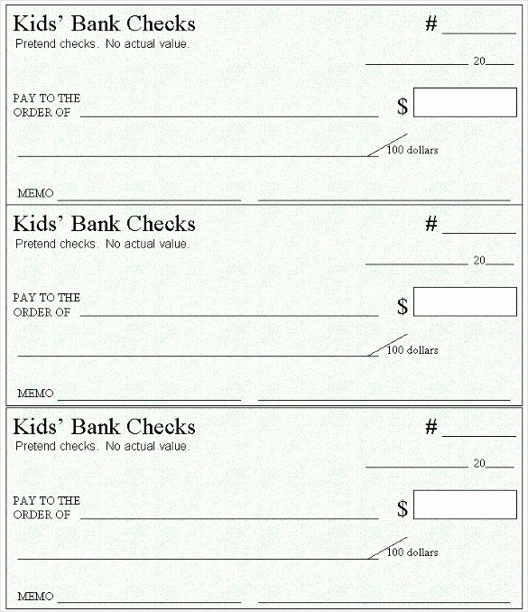 Blank Business Check Template Awesome Blank Check Template – 30 Free Word Psd Pdf & Vector
