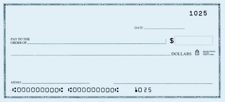 Blank Business Check Template Luxury Template Of A Blank Check