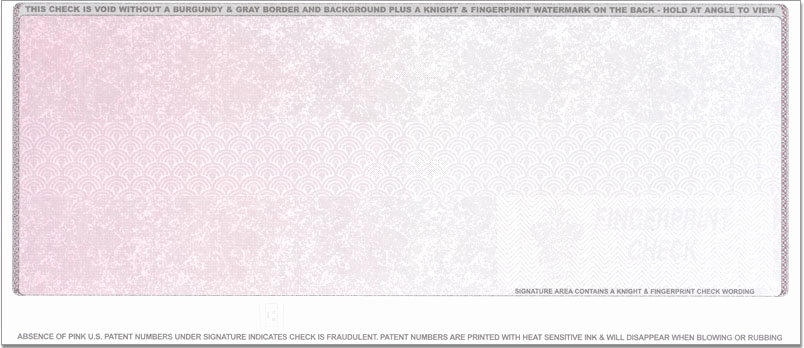 Blank Business Check Template New Checks On top Highest Security