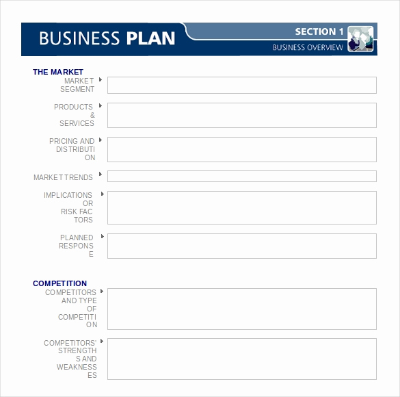 Blank Business Plan Template Word Fresh Business Plan Template 47 Examples In Word