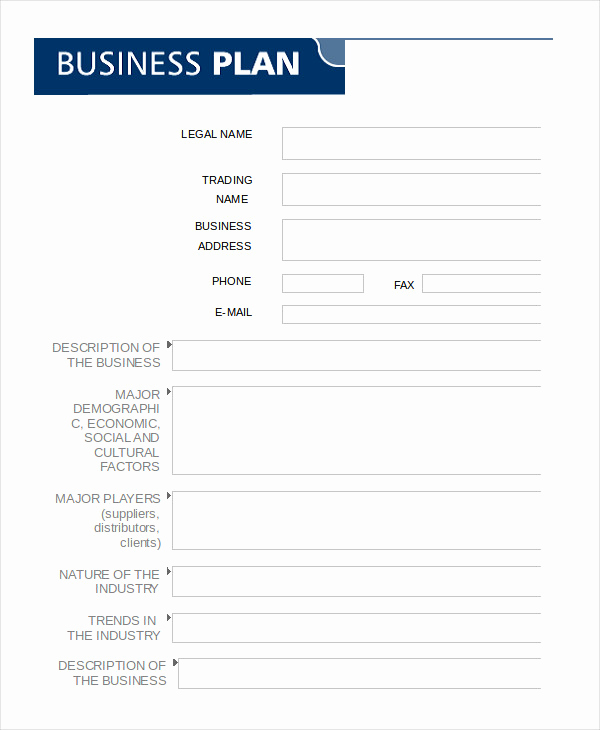 Blank Business Plan Template Word Fresh Business Plan Template Word to Pin On Pinterest