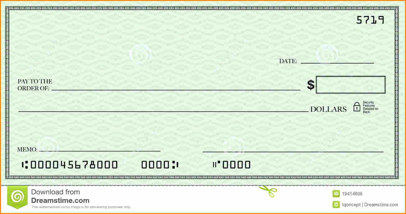 Blank Check Template Pdf Awesome Blank Check Template