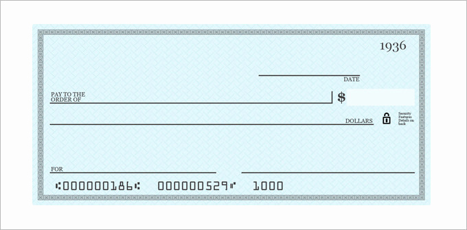 Blank Check Template Pdf Beautiful Blank Check Template – 30 Free Word Psd Pdf & Vector