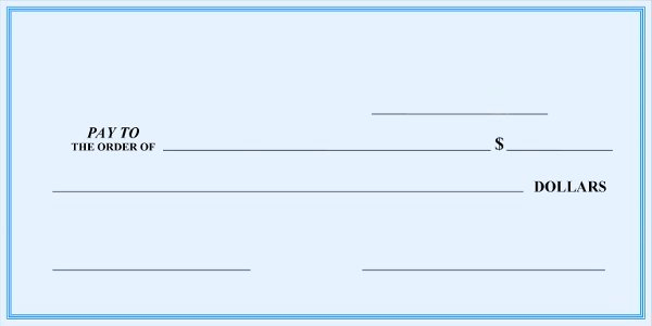 Blank Check Templates for Excel Inspirational Blank Check Template