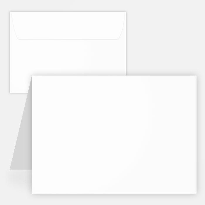 Blank Greeting Card Template Awesome Blank White Matte Printable Note Cards W Envelopes 4 25x5