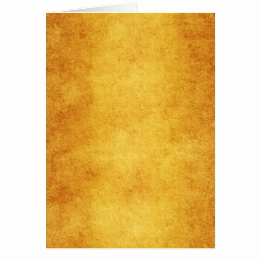 Blank Greeting Card Template Elegant Vintage Parchment orange Yellow Template Blank Card