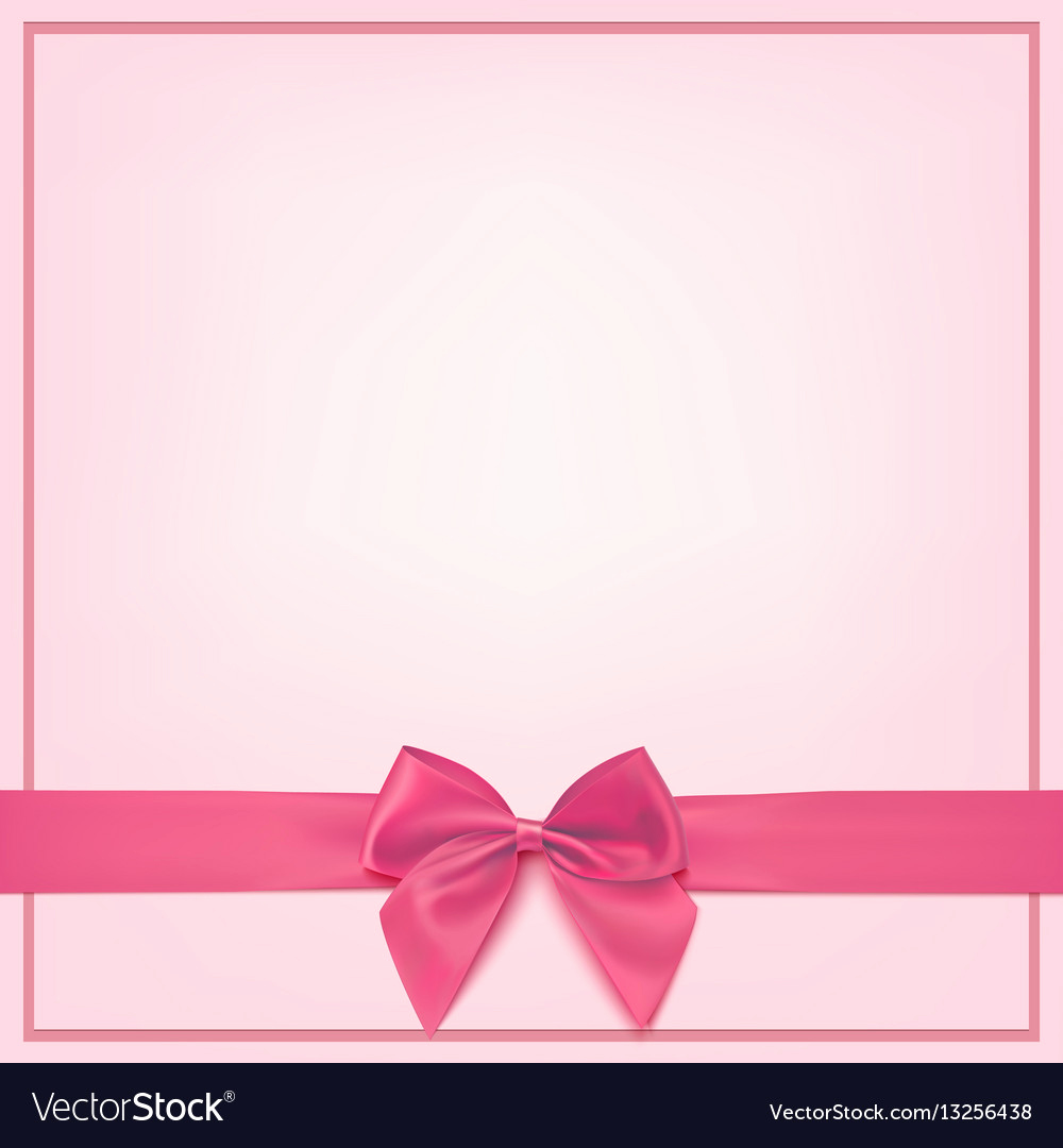 Blank Greeting Card Template Fresh Blank Pink Greeting Card Template Royalty Free Vector Image