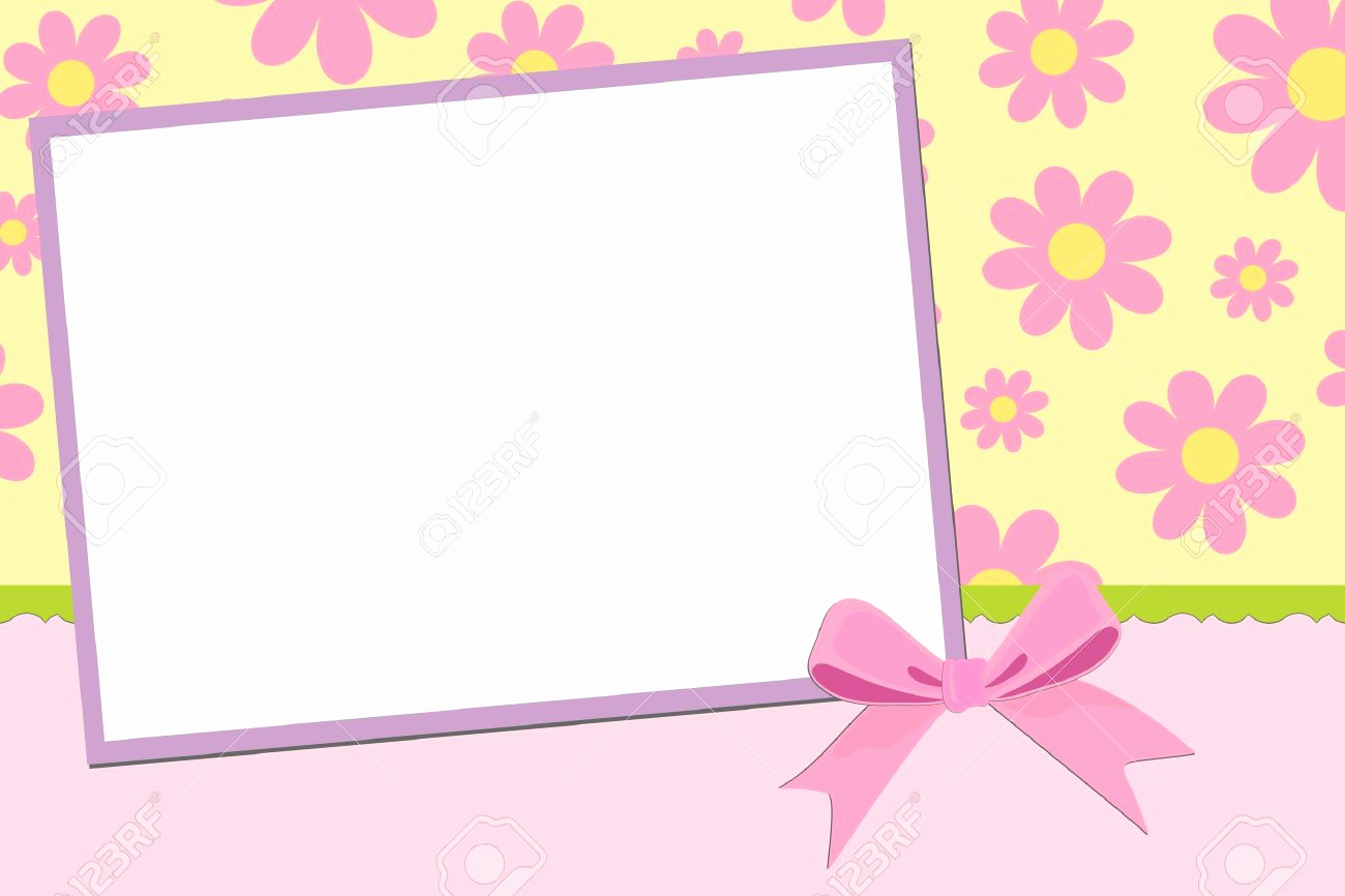 Blank Greeting Card Template Unique Postcard Clipart Greeting Card Pencil and In Color