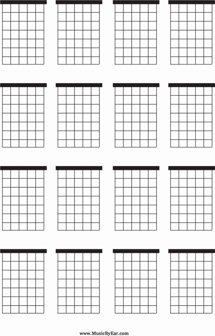 Blank Guitar Tab Pdf Beautiful Blank Guitar Chord Charts