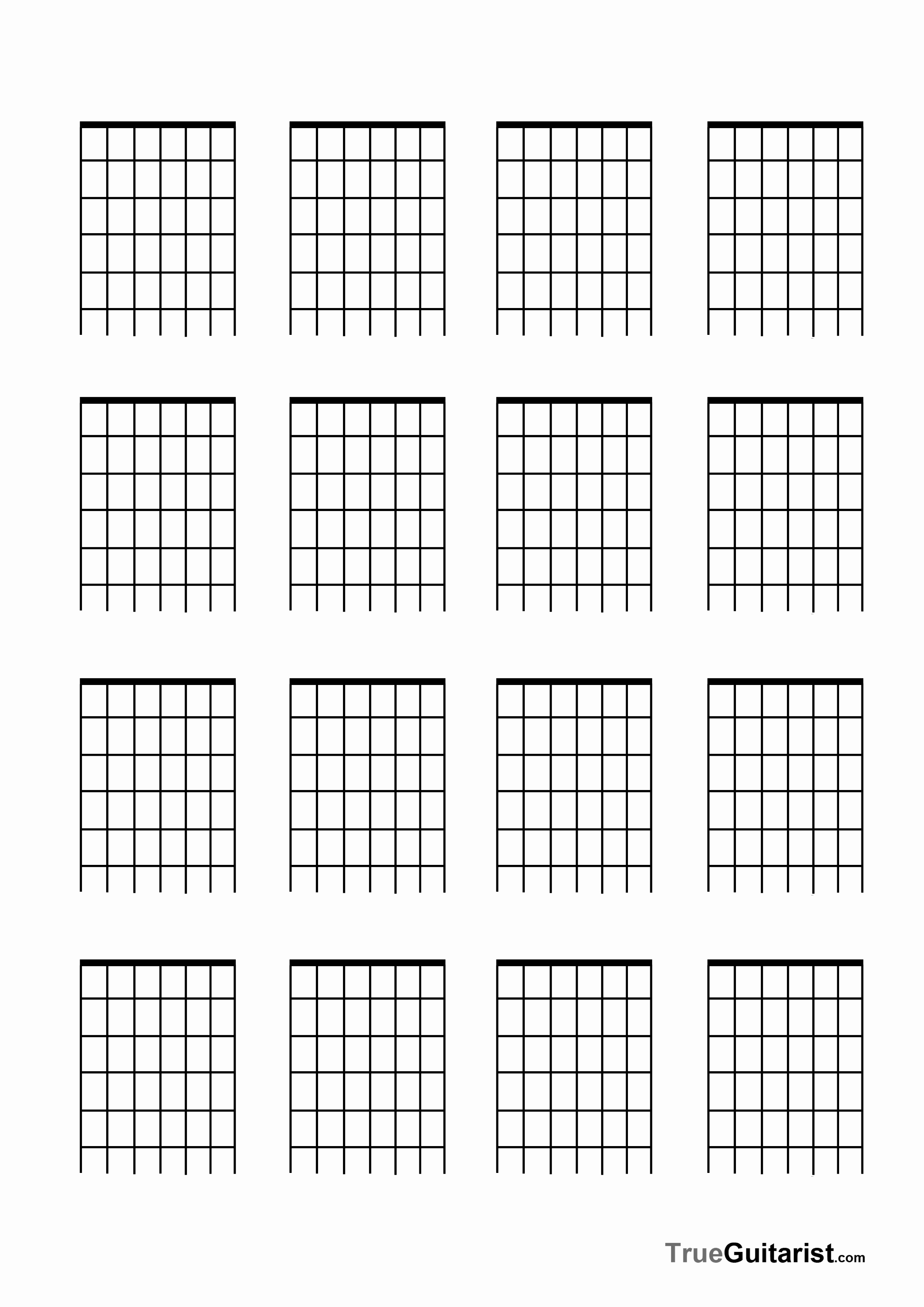 Blank Guitar Tab Pdf Elegant 7 String Guitar Free Blank Templates Trueguitarist