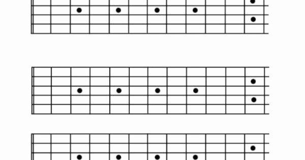 Blank Guitar Tab Pdf New Blank Guitar Fretboard 12 Fret Inerecords