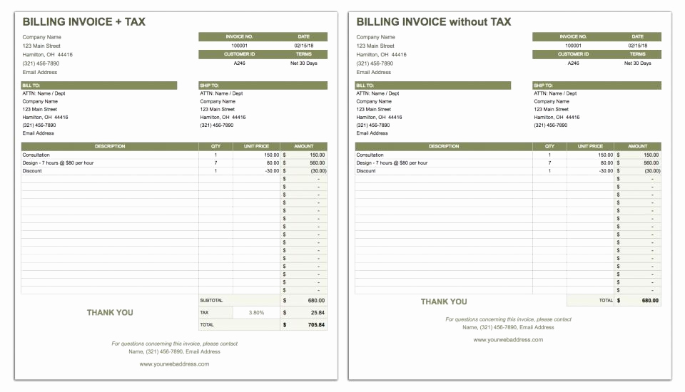 Blank Invoice Template Google Docs Fresh Invoice Template Builder Open source 10 Taboos About