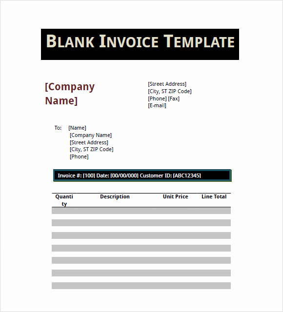 Blank Invoice Template Pdf Inspirational 16 Basic Invoice Templates Google Docs Apple Pages Pdf