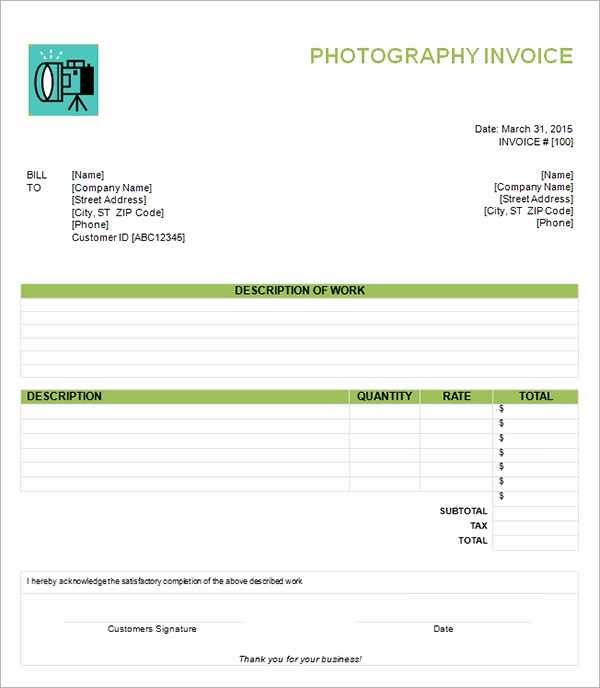 Blank Invoice Template Word Best Of 54 Blank Invoice Template Word Google Docs Google Sheets