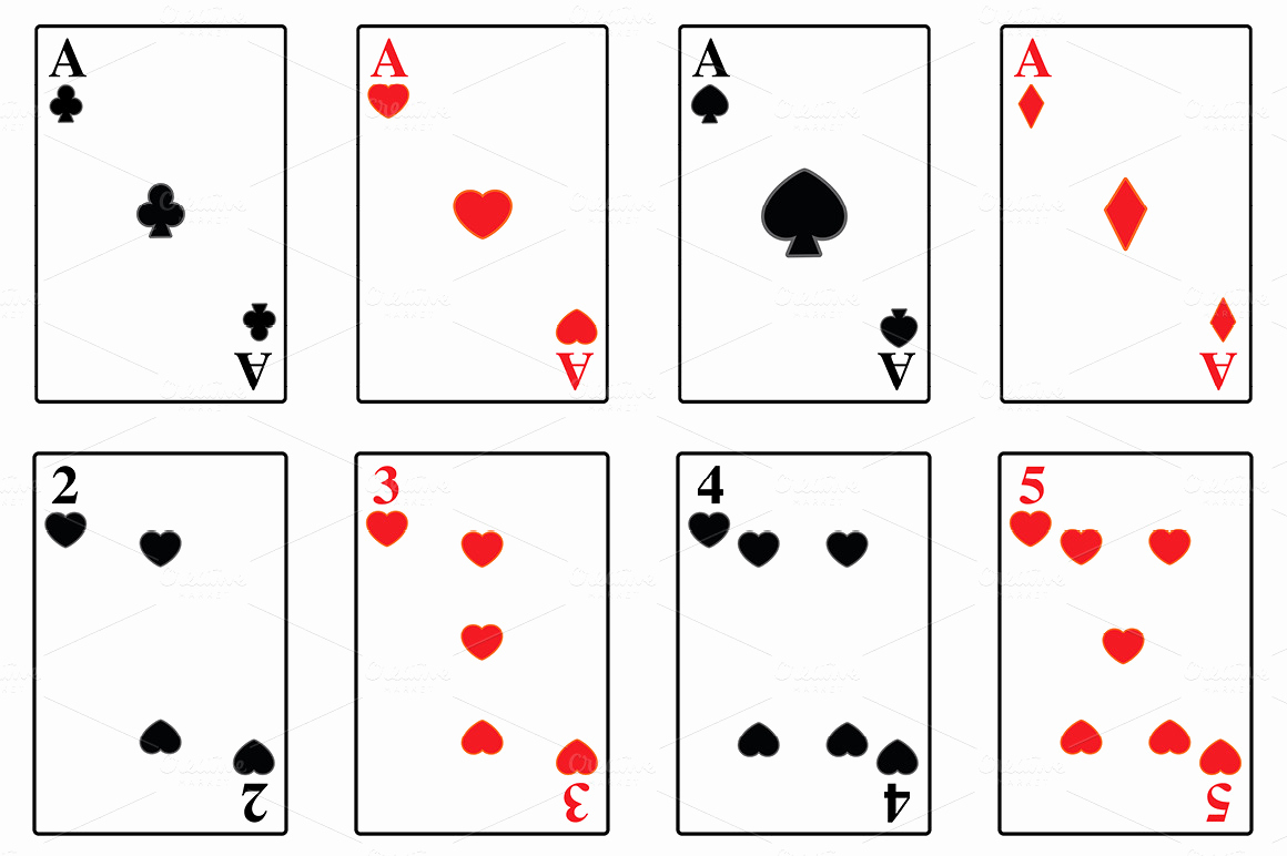 Blank Playing Card Template Elegant Jumbo Playing Cards that are Blank Driverlayer Search Engine