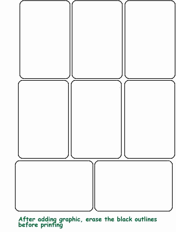 Blank Playing Card Template Fresh Best 25 Blank Playing Cards Ideas On Pinterest