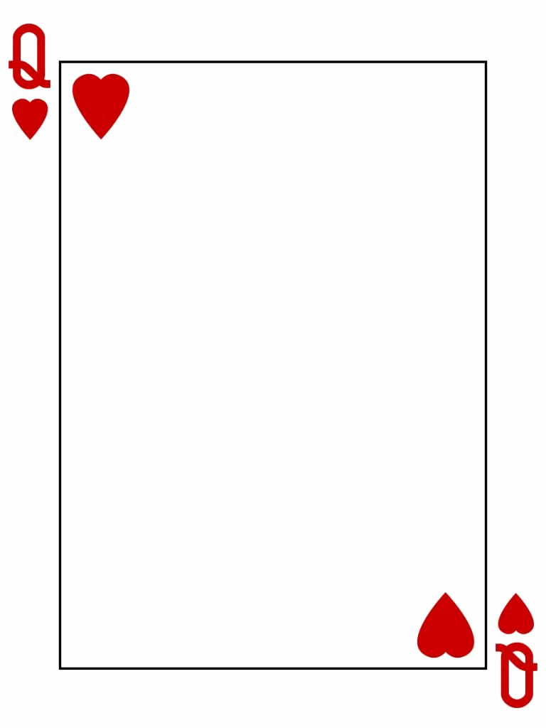 Blank Playing Card Template Lovely Pin by Char Huffman On Disney Stuff In 2019
