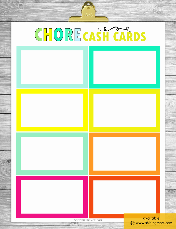 Blank Printable Chore Charts Awesome Free Printable Chore Charts that Work
