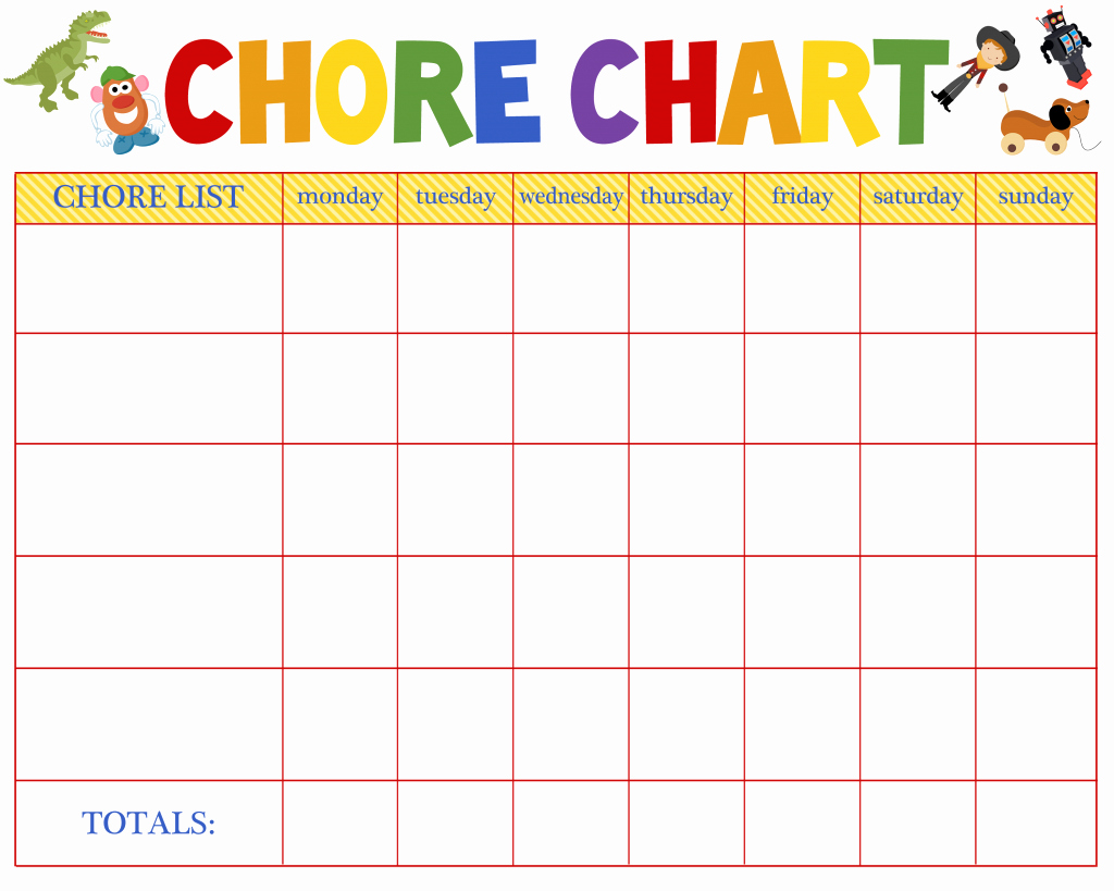 Blank Printable Chore Charts Fresh Free Behavioral Aid Printables Jumping Jax Designs