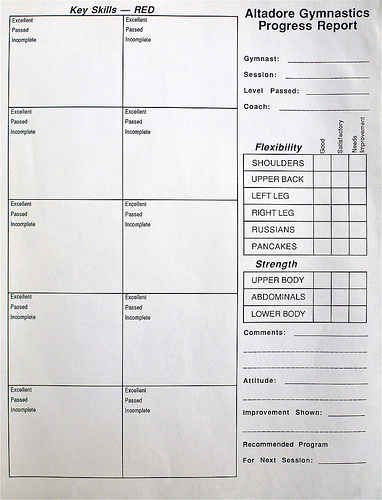 Blank Report Card Template Beautiful Report Cards
