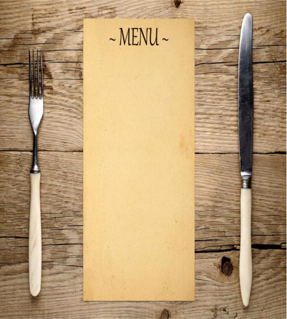 Blank Restaurant Menu Template Best Of Menu Templates – 32 Free Psd Eps Ai Indesign Word