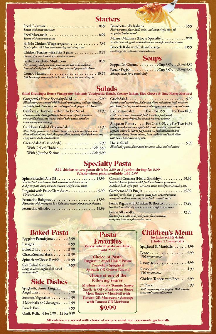 Blank Restaurant Menu Template Elegant Free Blank Restaurant Menu Templates