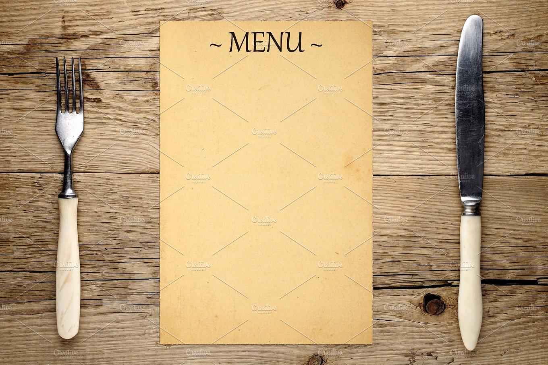 Blank Restaurant Menu Template Fresh 16 Blank Menu Designs Psd Vector format Download