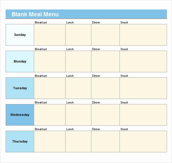 Blank Restaurant Menu Template Lovely 21 Blank Menus Templates Psd Ai Pages Docs