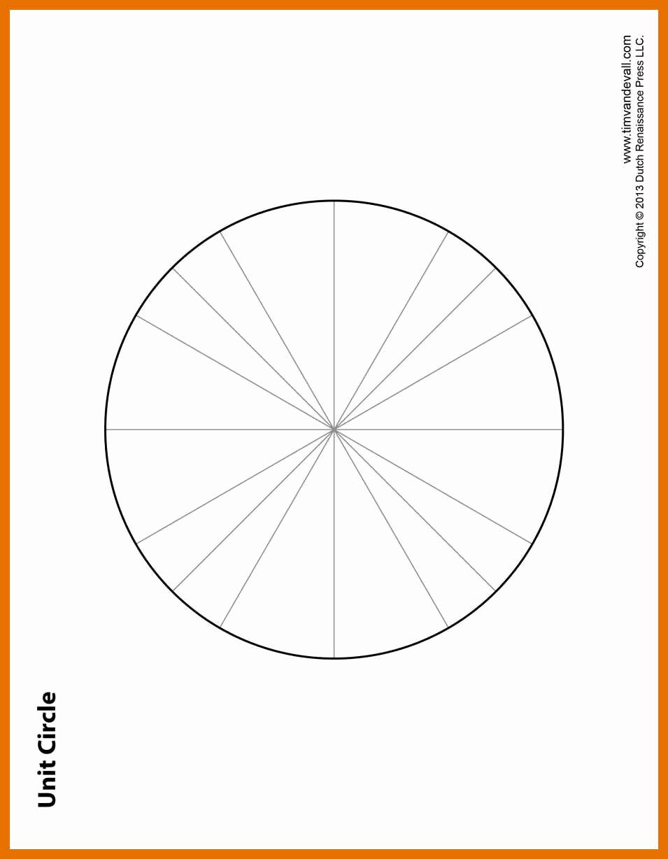 Blank Unit Circle Pdf Unique 5 6 Blank Unit Circle