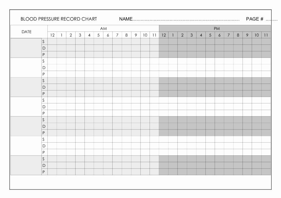 Blood Pressure Chart Pdf Inspirational 2019 Blood Pressure Log Chart Fillable Printable Pdf