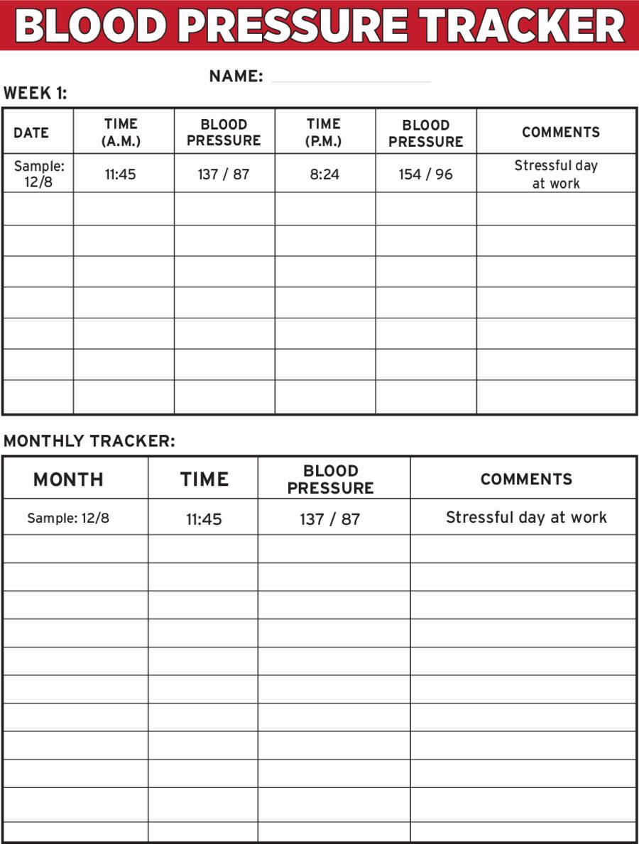 Blood Pressure Charts Pdf New 2019 Blood Pressure Log Chart Fillable Printable Pdf