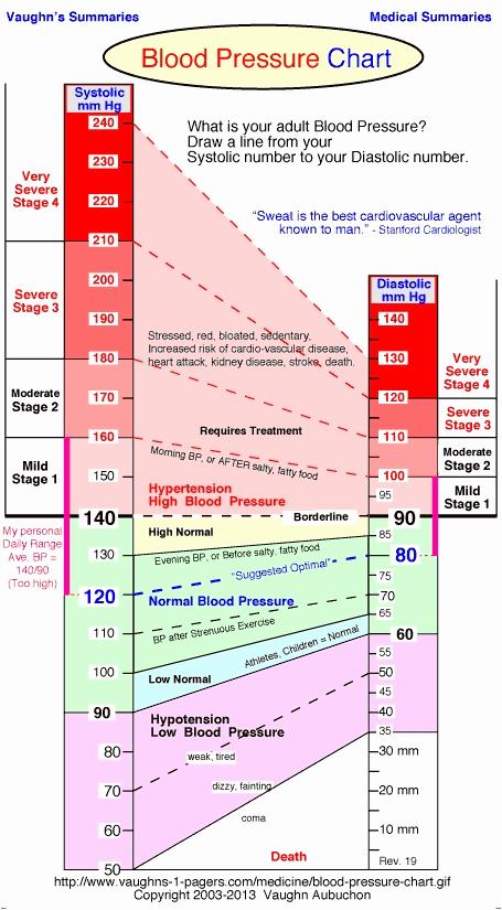 Blood Pressure Charts Pdf New Blood Pressure Chart for Elderly