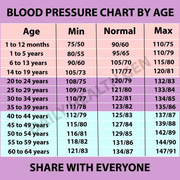 Blood Pressure Charts Pdf Unique 19 Blood Pressure Chart Templates Easy to Use for Free