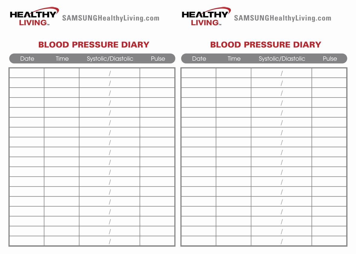 Blood Pressure Log for Patients Inspirational High Blood Pressure Med Logs