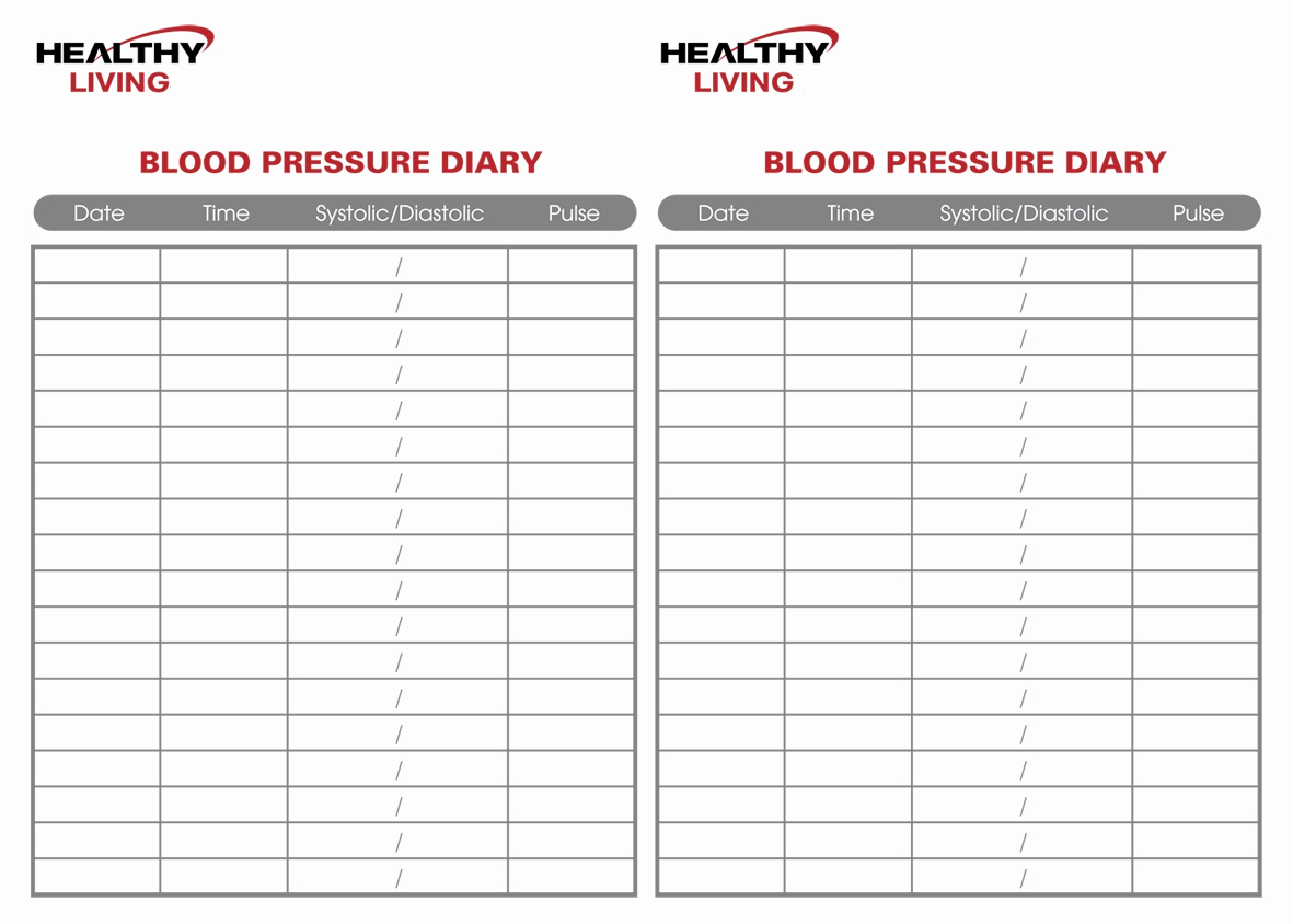 Blood Pressure Tracking Chart Elegant 19 Blood Pressure Chart Templates Easy to Use for Free