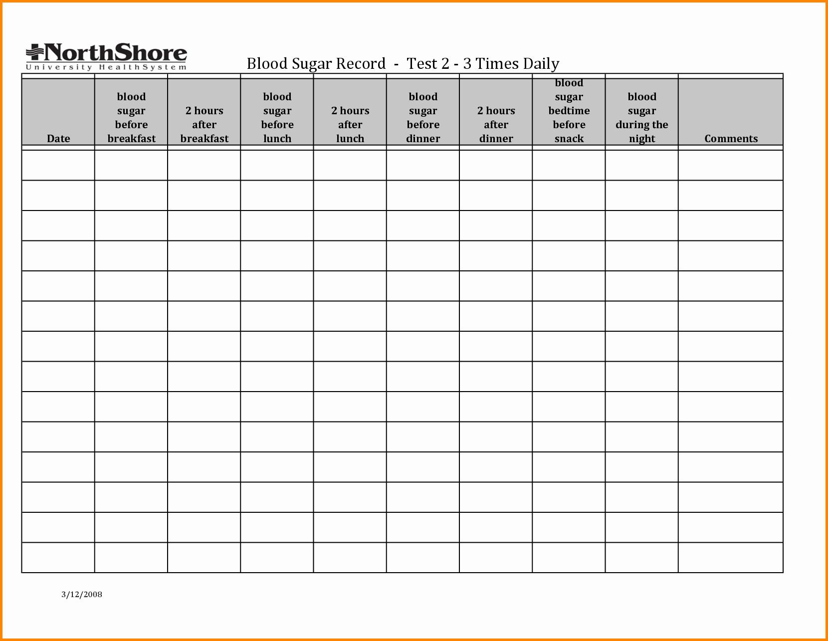 Blood Sugar Log Sheet Pdf Fresh Pin Weekly Blood Glucose Log Sheet On Pinterest