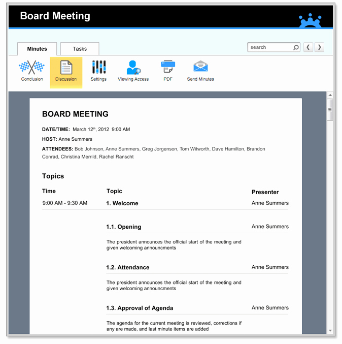 Board Meeting Agenda Template Awesome Board Meeting Agenda Templates