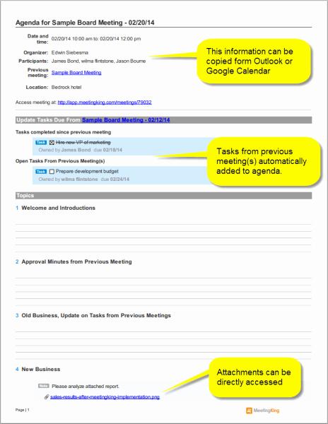 Board Meeting Agenda Template Beautiful Sample Board Meeting Agenda Template Meeting Agenda