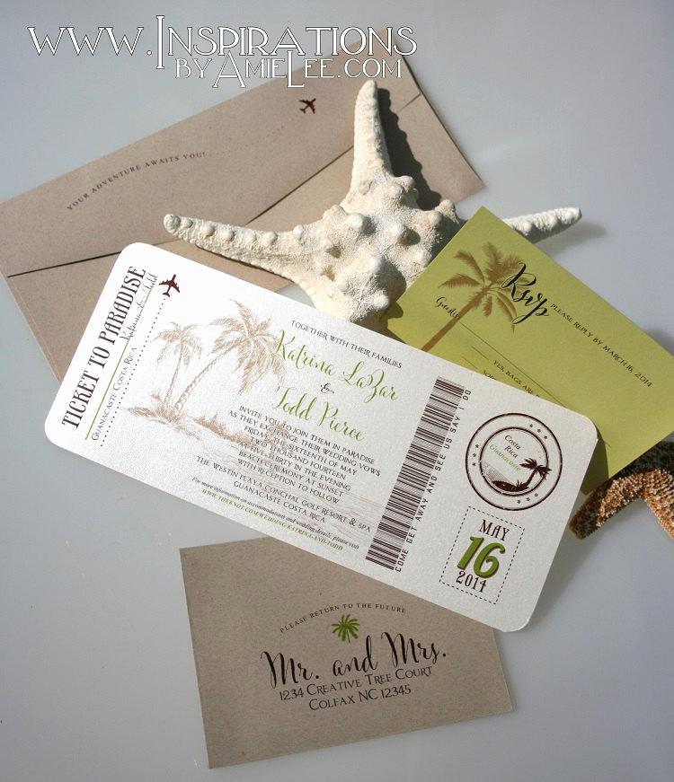 Boarding Pass Wedding Invitations Elegant Boarding Pass Wedding Invitations Boarding Pass Wedding